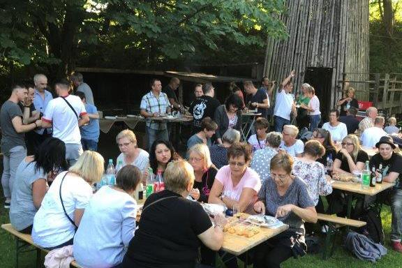 Sommerfest am Jugendgästehaus Bahnhof Garbeck